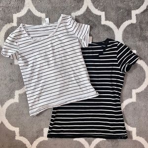 Two stripped shirts